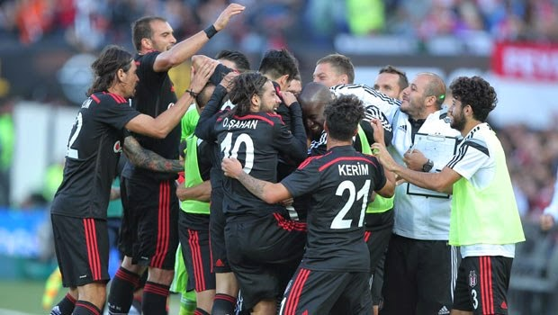 30 Temmuz 2014 Beşiktaş-2 Feyenoord-1 Maç Sonucu! Maçın Özeti Golleri!