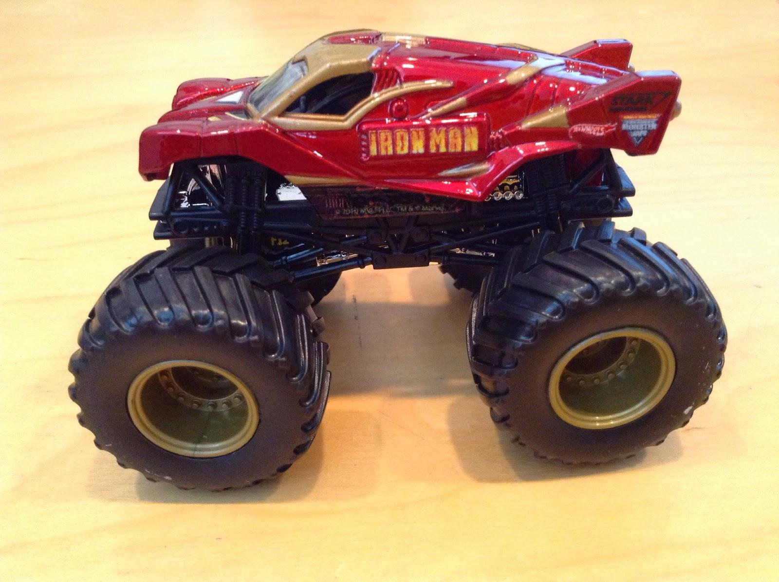 julian 39 s hot wheels blog iron man monster jam truck. Black Bedroom Furniture Sets. Home Design Ideas