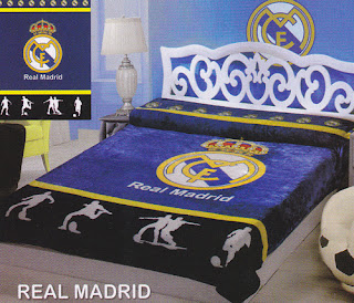Selimut Sutra Panel Belladona Real Madrid