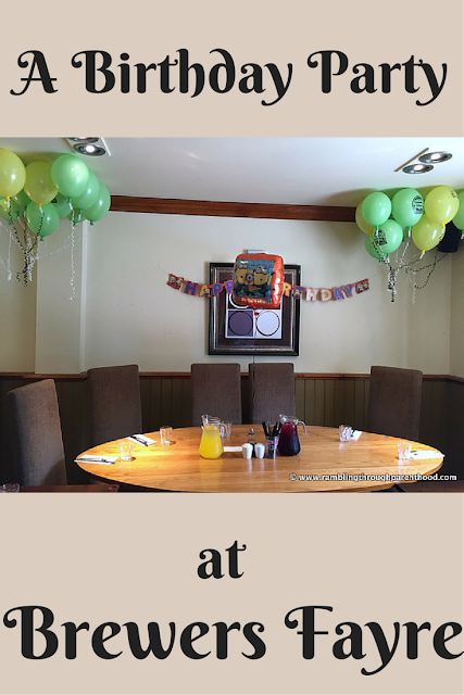 A Brewers Fayre Birthday Party