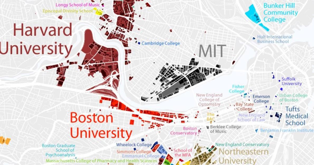 ΒΕΕ-ΖΕΕ: academic regional map