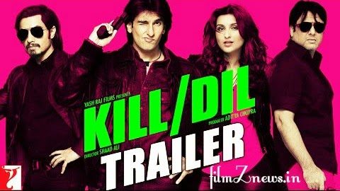 Kill Dil (2014) - Official Trailer - Ranveer Singh | Ali Zafar | Parineeti Chopra | Govinda