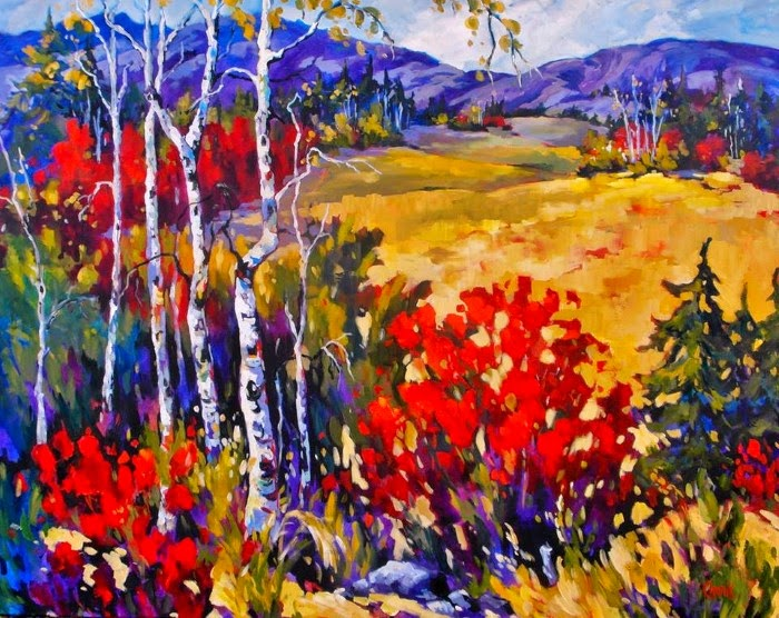 Импрессионистическая манера живописи. Jill Charuk