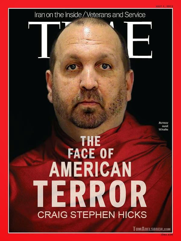Time Chapel Hill terrorist cover