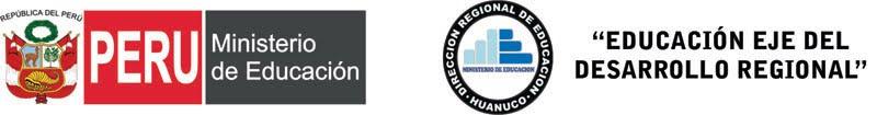 Dirección Regional de Educación Huánuco