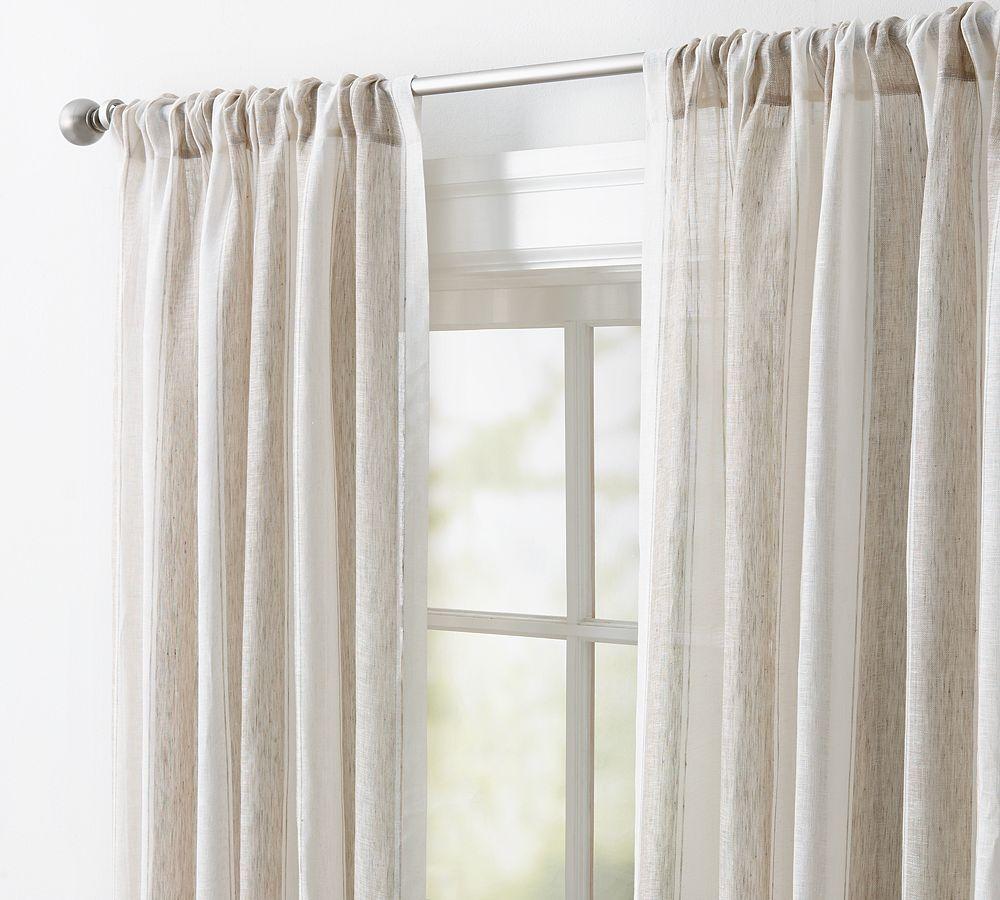 cortinas clasicas y romanas - Cortinas Lino