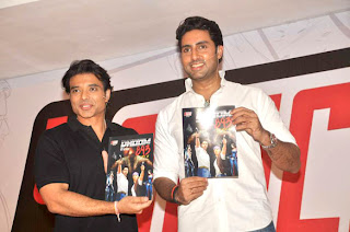 Uday Chopra and Abhishek launches 'YOMICS'
