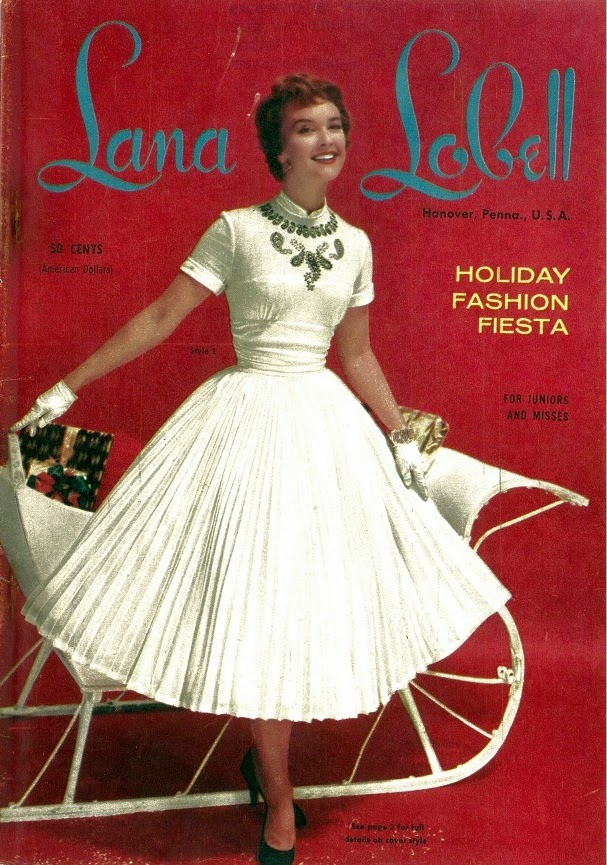 Here Is Some More Inspiration For Christmas Outfits From Lana Lobell Holiday Fasion Fiesta Catalogue The 50s