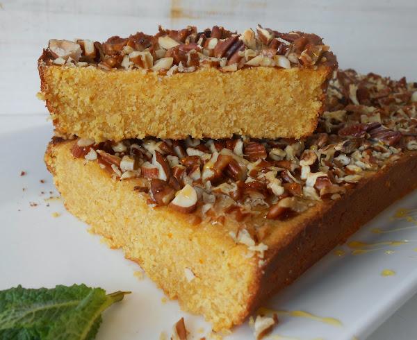 torta di farina gialla tarta de harina de ma z