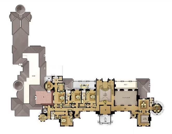 Mansions more september 2012 for Mega homes floor plans