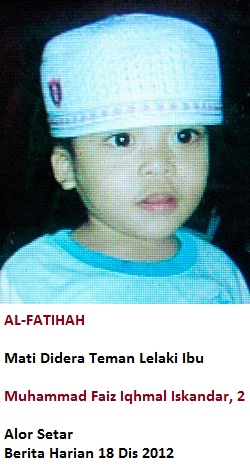 Budak 2 Tahun Maut Didera