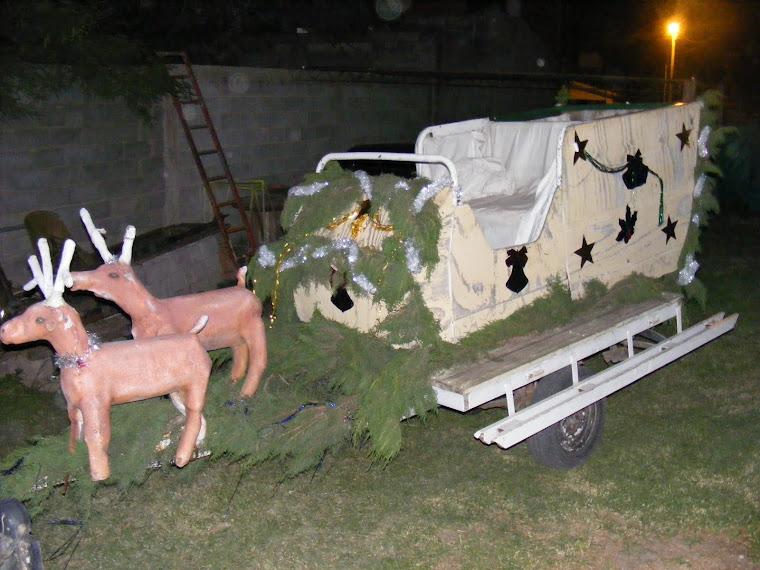 El misterioso Trineo de Papa Noel