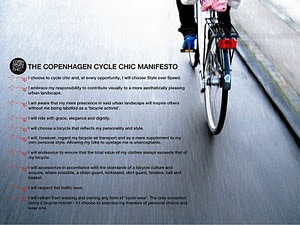 The Cycle Chic Manifesto