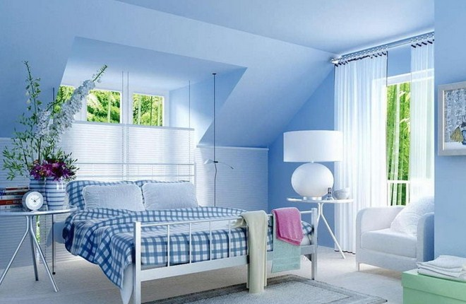 Wonderful Light Blue Bedroom Decorating Ideas
