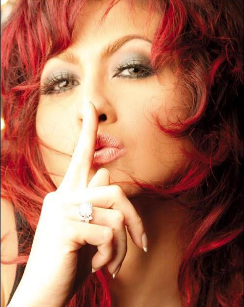 anak nusantara beauty diana pungky with red hair