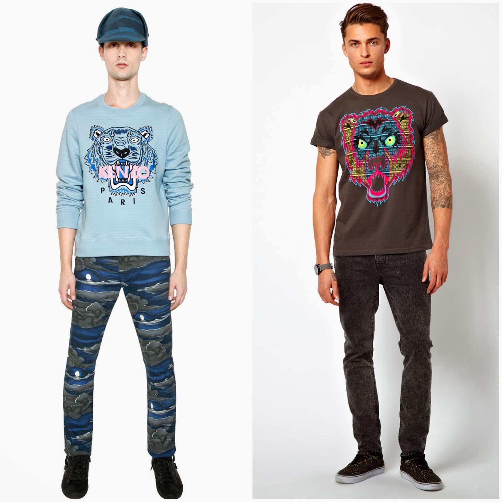 00O00 Menswear Blog: The weekend edition: Kenzo for the winter, and ASOS for the summer