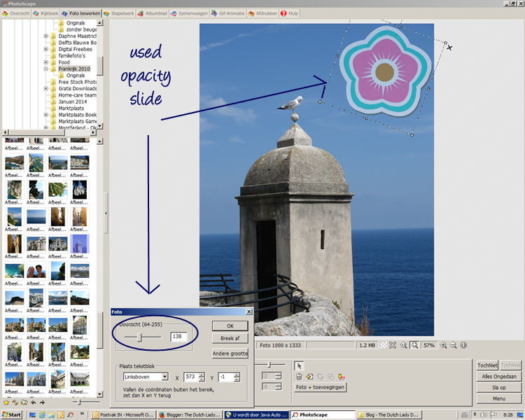 How To Add Clipart To Digital Images - Using Photoscape - The ...