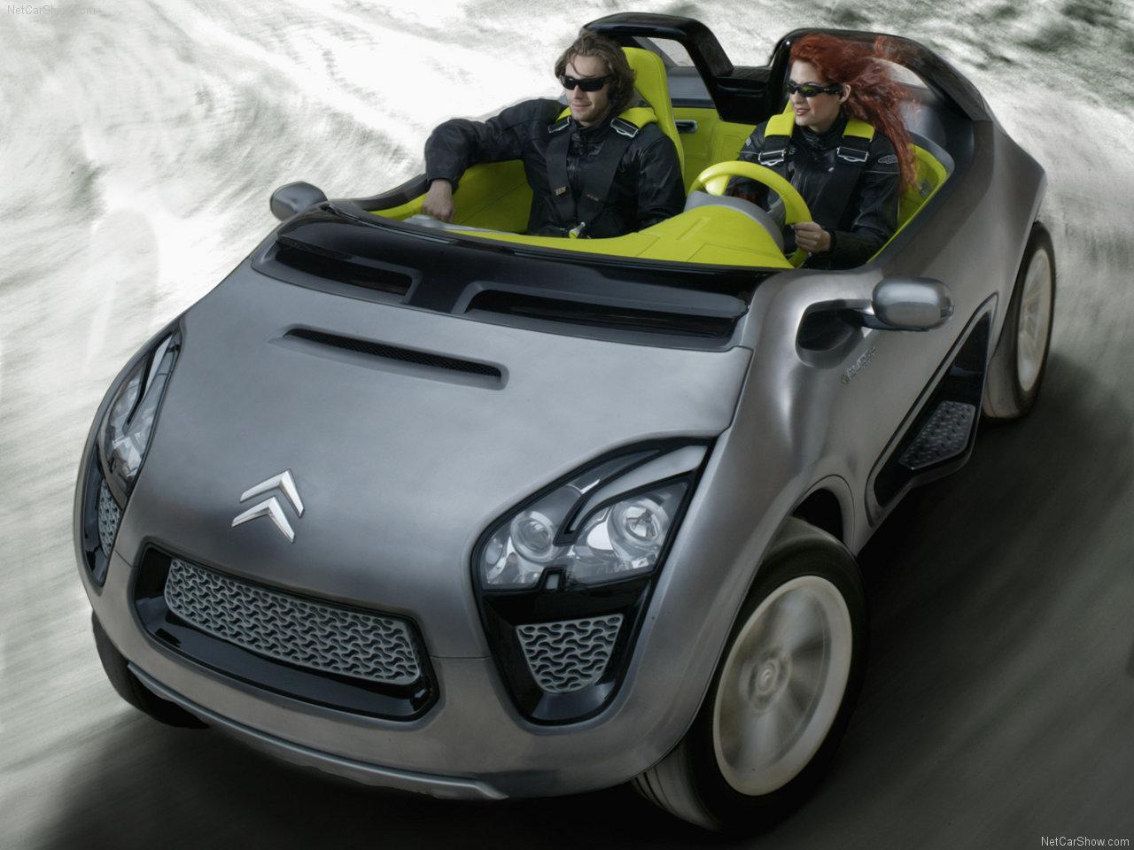 Citroen populaire franais dautomobiles 2006 citroen c buggy 2006 citroen c buggy concept vanachro Gallery