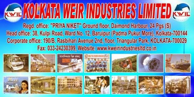 Kolkata Weir Industries Limited, MLM NEWS, MLM hindi news, chit fund,