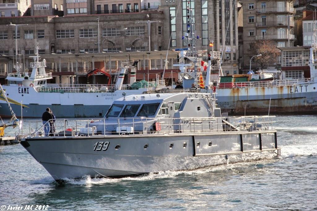 Moroccan Law Enforcement & Cost Guard Fleet / Vedettes de Surveillance et les Gardes des Côtes - Page 5 Clase+Rodman-101+P-139+(1)