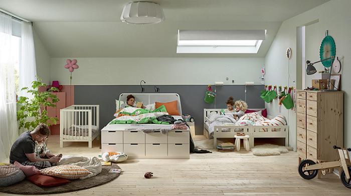 Pequefelicidad: dormir en familia: habitaciones inspiradoras.
