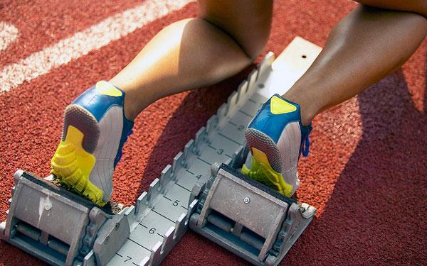 corredor en tacos atletismo
