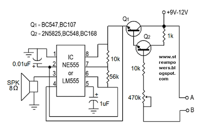 Simple Water Sensor Wiring Diagram
