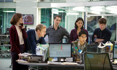 Los Lunes Seriéfilos The Newsroom reparto
