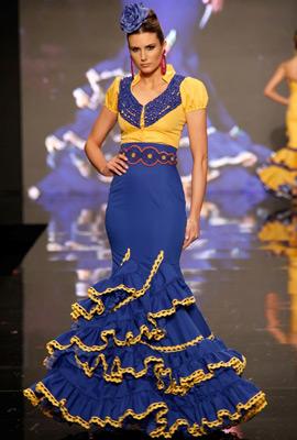 trajes de flamenca 2013 Adrián González