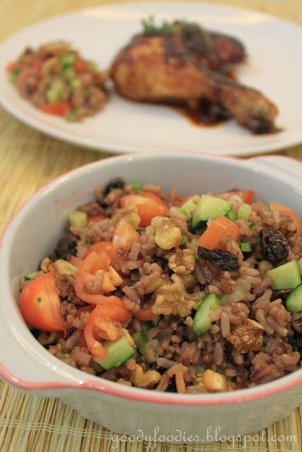 ... : Meatless Monday Recipe: Brown Rice Salad - Vegetarian (Delia Smith