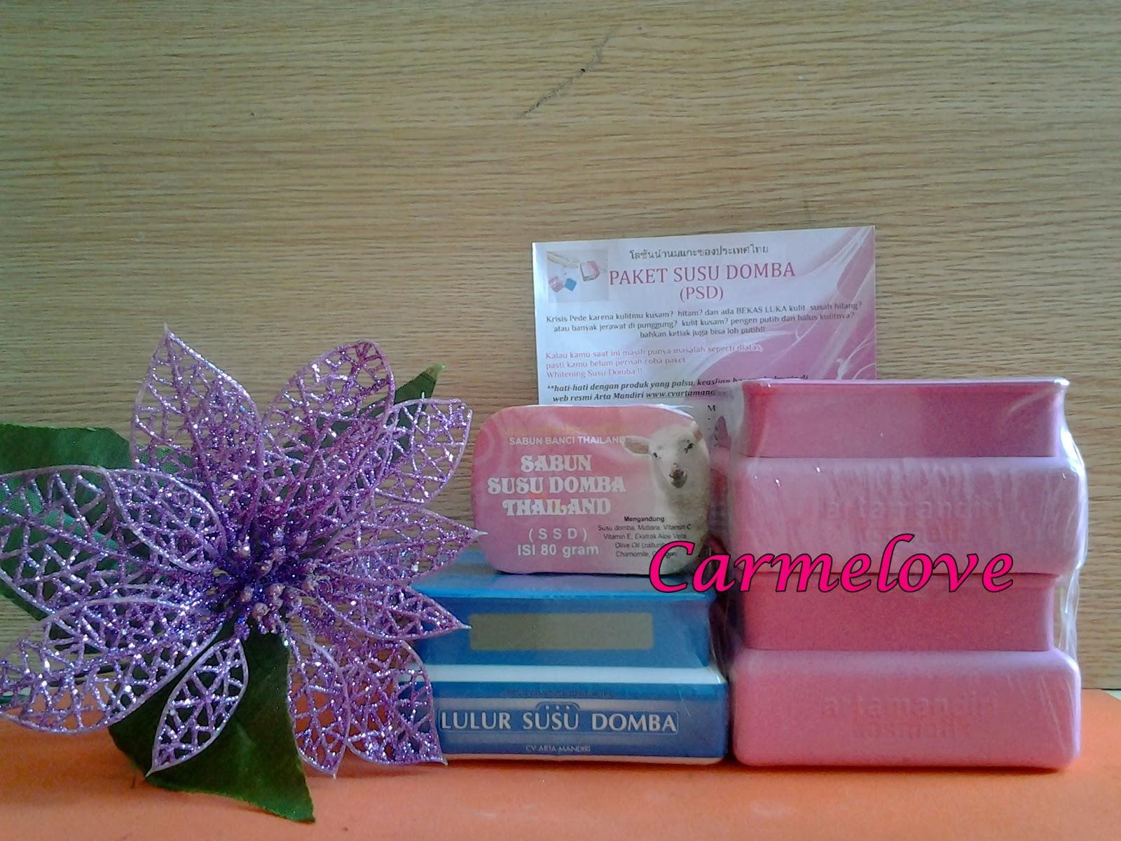 Paket Susu Domba Kemasan Kotak Psd Grosir Kosmetik Murah Cream
