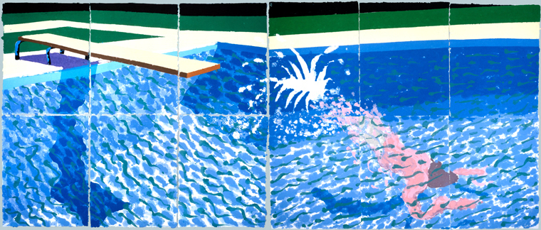 Photography Into Painting David Hockney By Kristy Chae