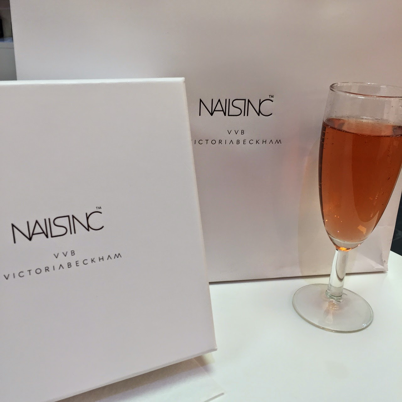 Champagne Nail Bar by Nails Inc Victoria Beckham