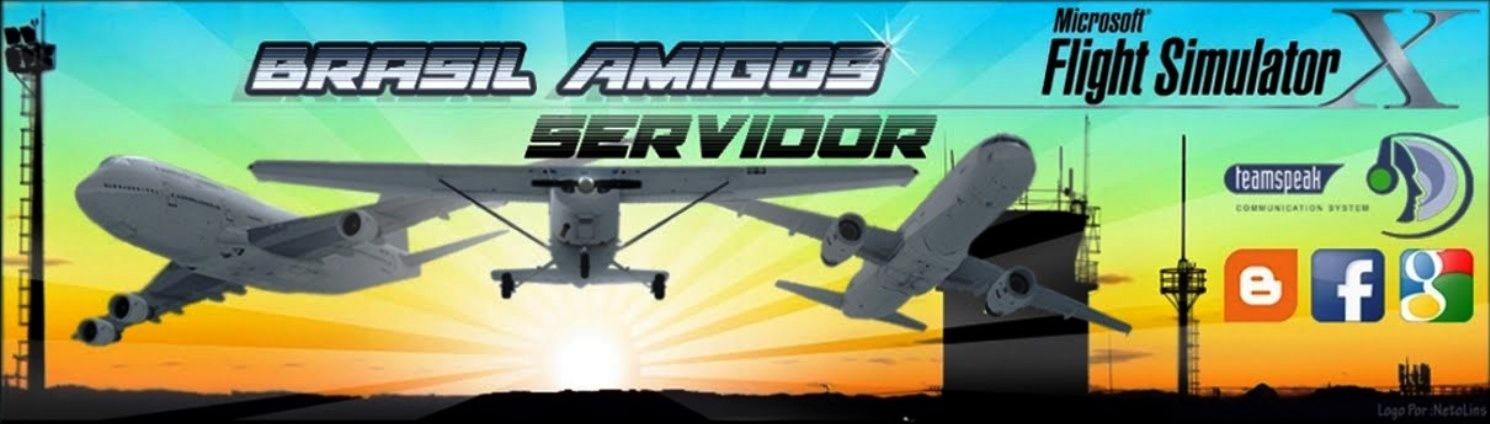 Brasil Amigos Servidor FSX