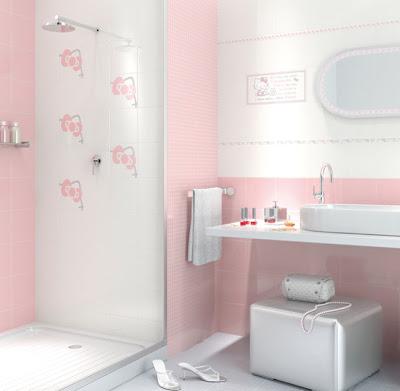 Baños con Hello Kitty