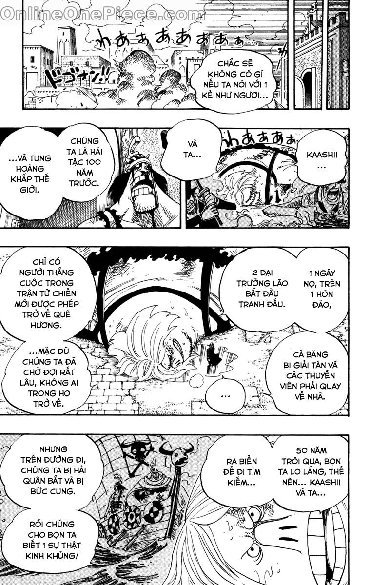 One Piece - Đảo Hải Tặc chap 384 page 5 - IZTruyenTranh.com