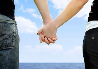 building_foundation - man woman holding hands - 3 Key Stages of Lasting Relationships