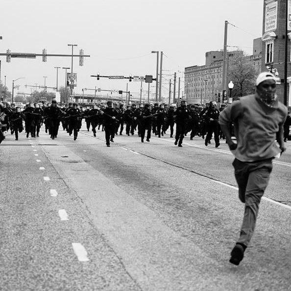 Protesto Freddie Gray - Estou na Noia blog