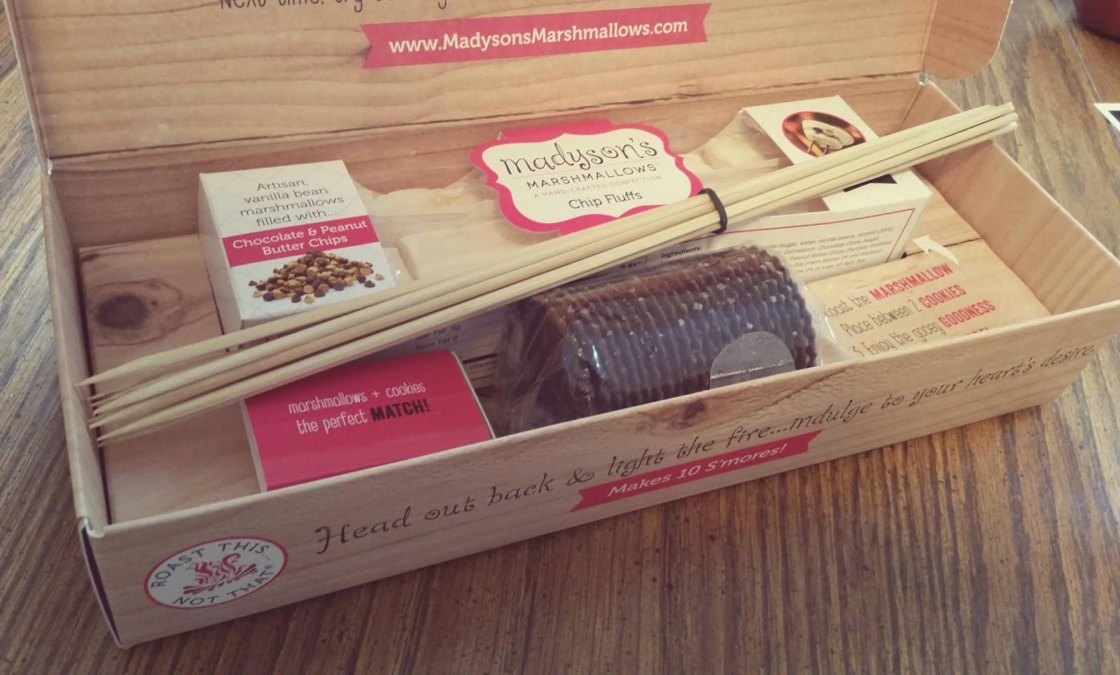 Madyson's artisan s'mores kit