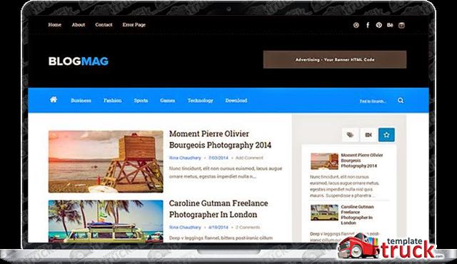 Blogmag responsive blogger template blogger templates 2018 best blogmag responsive blogger template maxwellsz