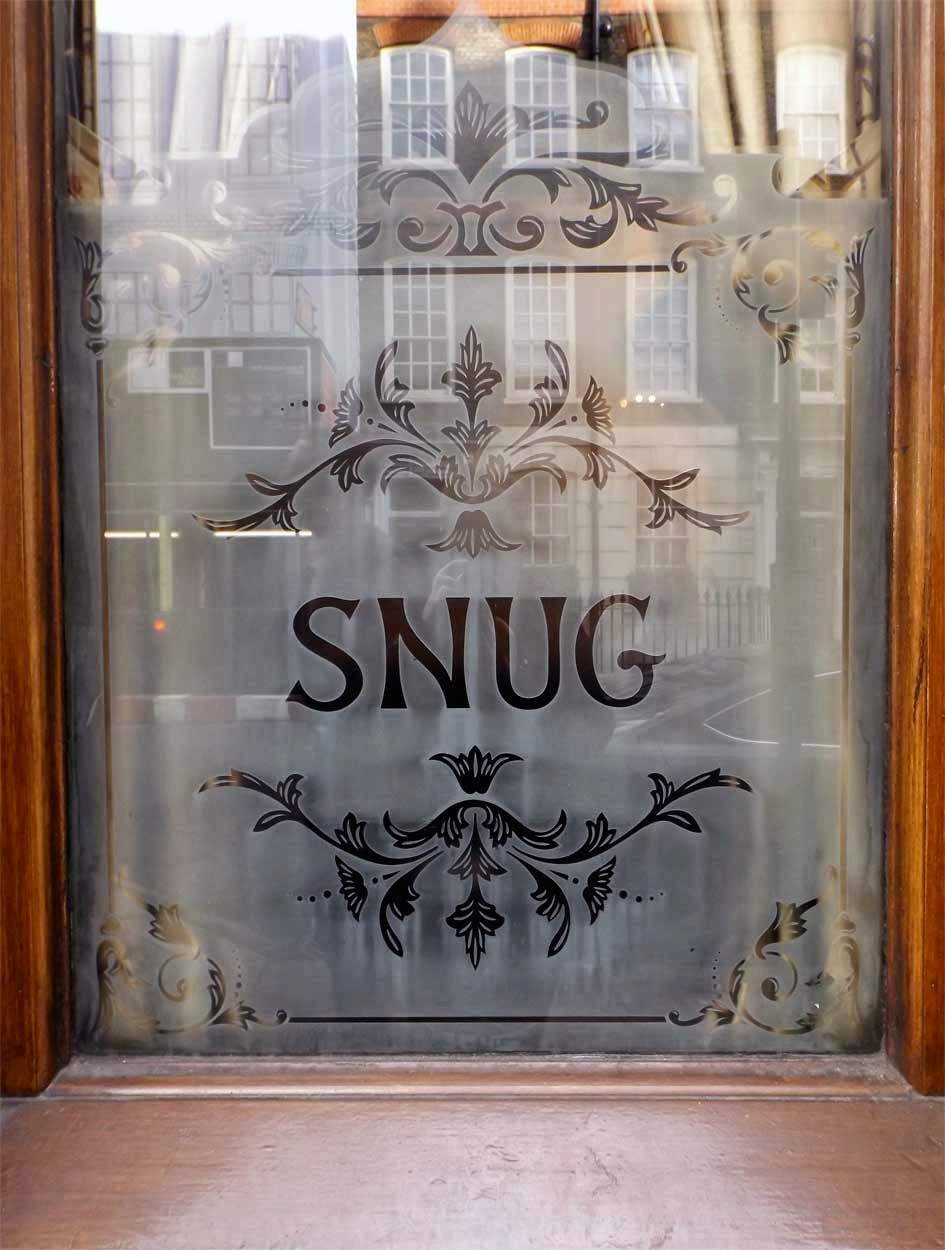 john snow pub window london