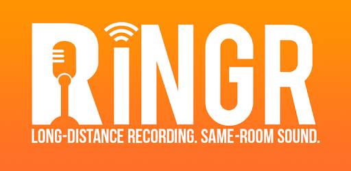 Record long-distance interviews with RINGR