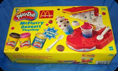 Play-Doh McDonalds McFlurry Dessert Playshop