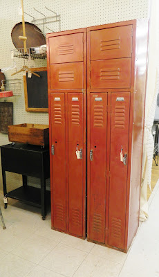 1940's industrial lockers
