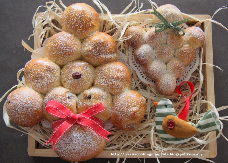 Christmas Tree Bread(Last Post in 2012) 圣诞树面包+明年再 ...