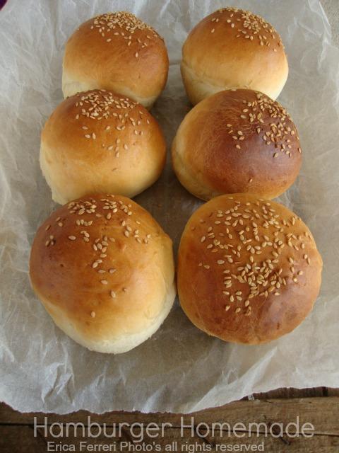 oggi nuova ricetta quella per i classici panini da hamburger stessa consistenza stesso sapore s ono pure facilissimi da fare