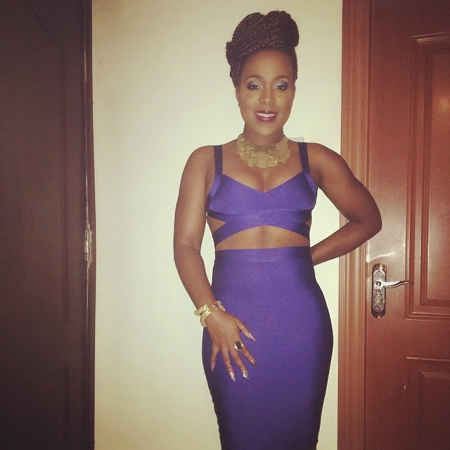 Moet Abebe Looking Gorgeous in her Outfit