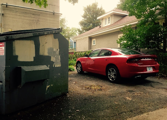 2015 Dodge Charger SXT Rallye V6 red