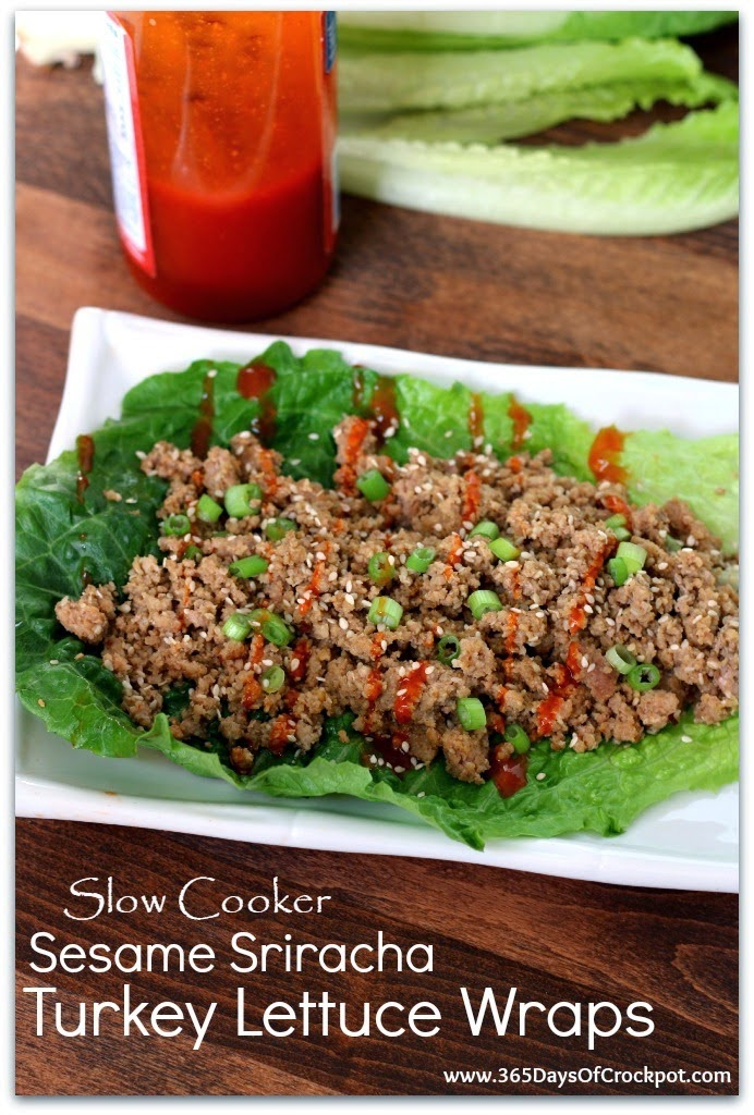 The BEST Slow Cooker Lettuce Wraps with Beef, Chicken, Pork, or Turkey ...
