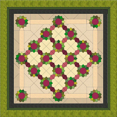 Dresden Plate Quilt Block, learn how with my Free block pattern